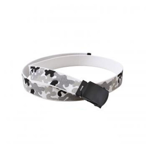 GI Style Belts - Metro/White with black buckle