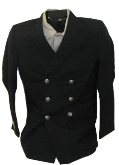 U.S. Navy Black Dress Jacket with Silver buttons
