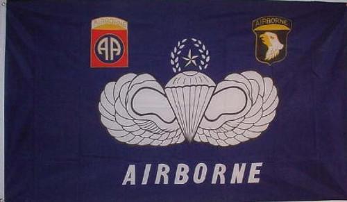 82nd Airborne & 101st Airborne Flag