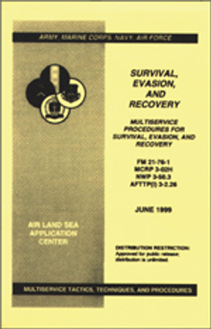 SURVIVAL, EVASION, AND RECOVERY MANUAL