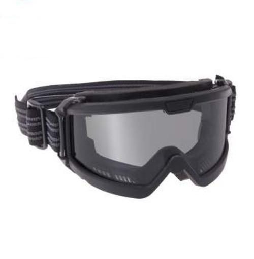 Rothco OTG Ballistic Goggles Black with Smoke Lens