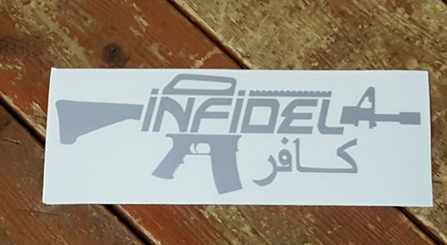 Infidel Vinyl Sticker Decal