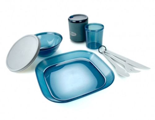 GSI Outdoor Infinity 1 Person Tableset- Blue