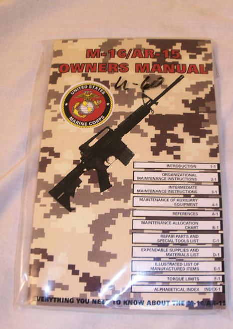 M-16/AR-15 USMC Owner's Manual TM 05538C-23 & P/2