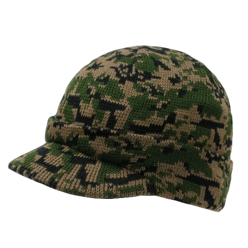 Camouflage Jeep Caps/Visor Beanies WDL Digital