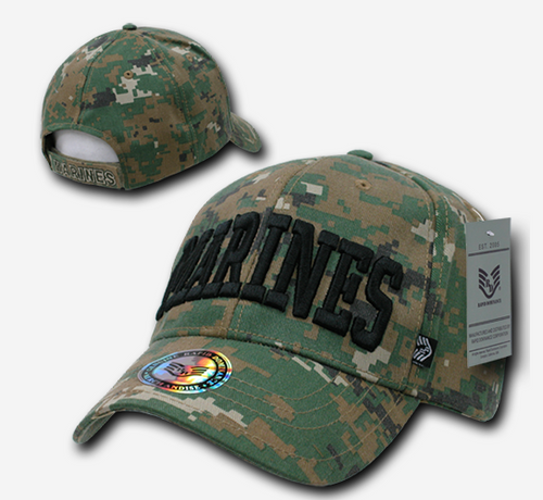 Marine Woodland Digital Cap