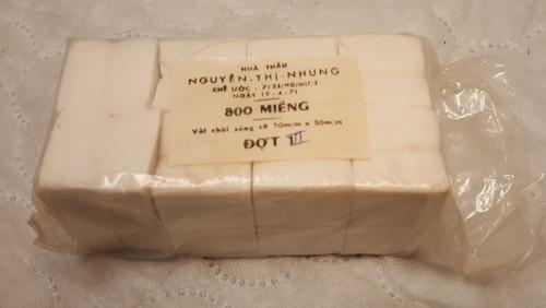 Genuine Vietnam Gun Cleaning Patches