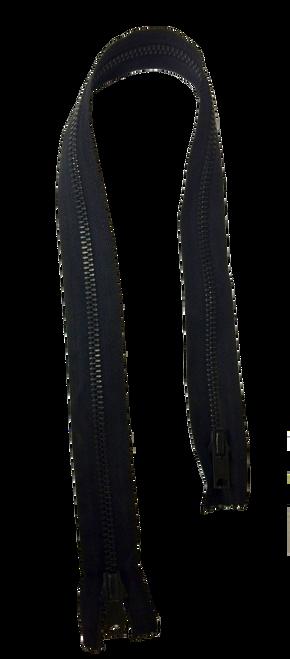 Black Metal Zipper
