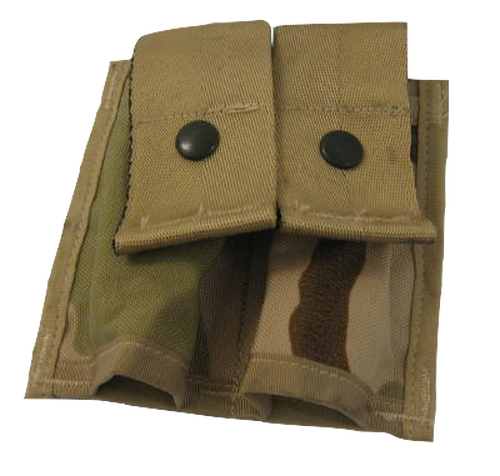 Molle II 40MM Pyrotechnic Pouch Double 3 Color Desert