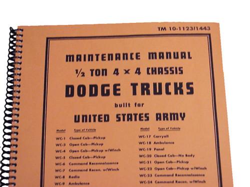 Dodge 1/2 Ton 4 x4 Manual