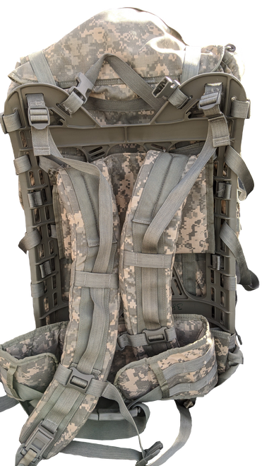 Military Issue MOLLE II Large ACU Field Pack with Frame