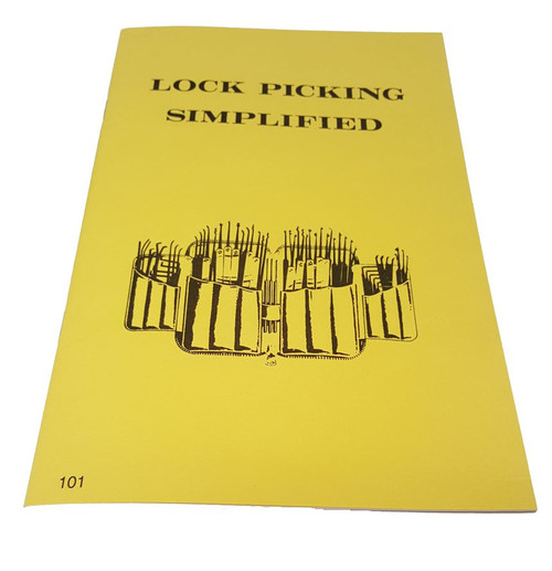 Lock Picking Simplified Manual