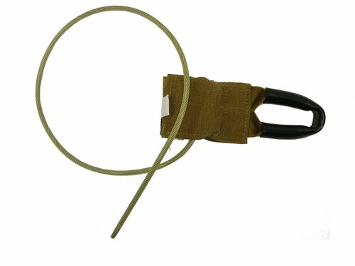 Modular Tactical Vest Pull Cables Coyote Brown