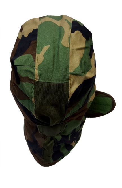 Genuine Military Issue Cold Weather USED Cap/Helmet Liner Woodland Size 7