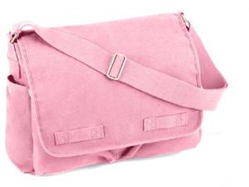 PINK HEAVYWEIGHT CLASSIC MESSENGER BAG