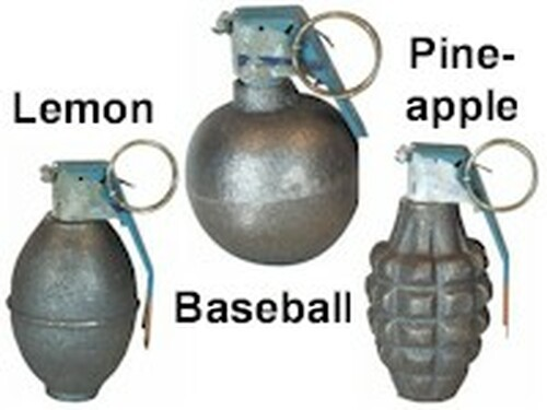 Dummy Inert Grenade PLEASE READ DESCRIPTION FOR SHIPPING RESTRICTIONS