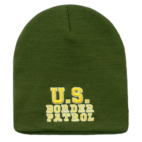 Embroidered US Border Patrol Knit Cap