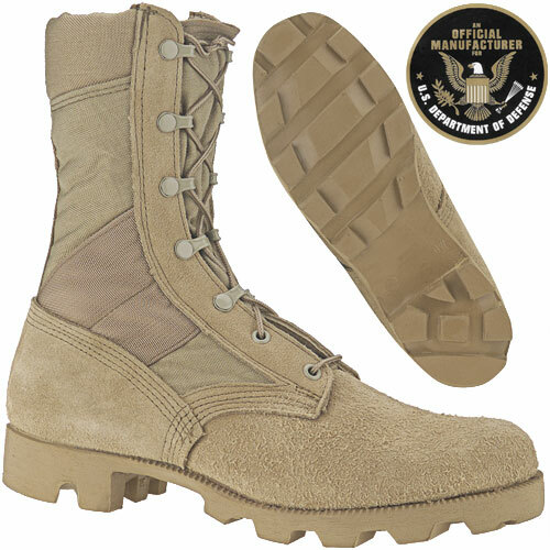 GI Issue Tan Desert Jungle Boot Hot Weather 74cd3ac15d3