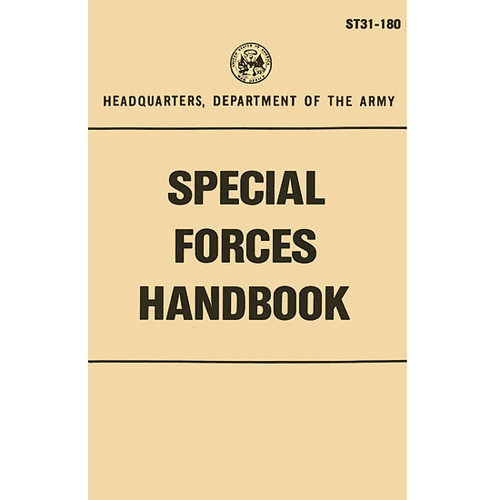 Special Forces Handbook ST31-180