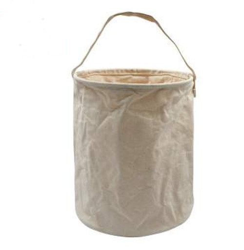 Rothco Canvas Large Water Bucket- Natural Cream Color