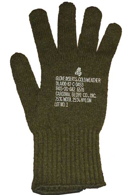 Wool Glove Liners