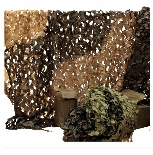 Red Rock Outdoor Gear Hunting Series Camouflage Netting SIZE 8' x 10' DESERT