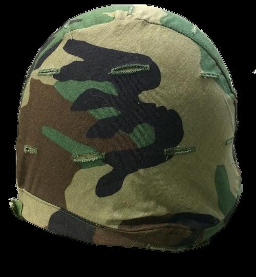 BDU Helmet Cover-Woodland