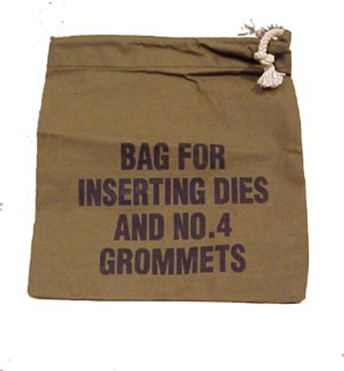 Bag for Inserting Dies & Grommets