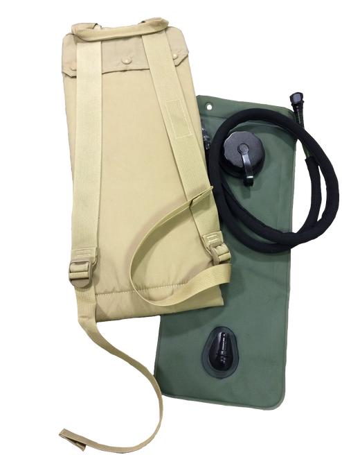 US GI Molle II 3 Liter Coyote Hydration System with Bladder