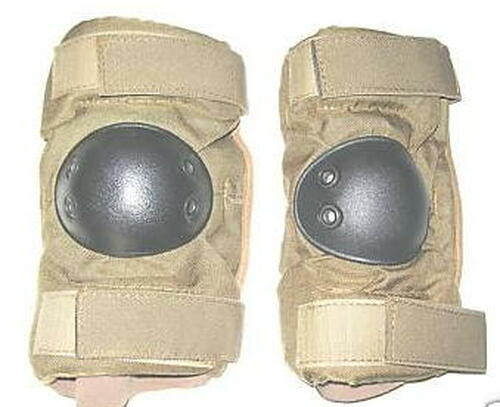 Military Issue Tactical Coyote Brown Elbow Pads (1pair)