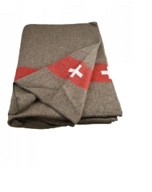 2a23ddca27f17 Swiss Army Reproduction Blanket - Army Surplus Warehouse