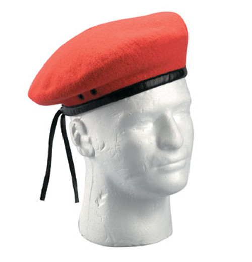 GI Style Beret Red