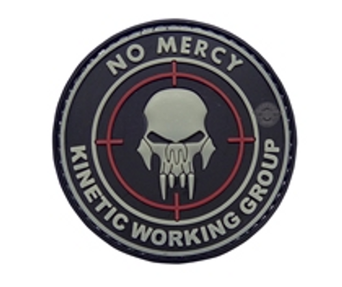 Morale Pvc Patch-No Mercy