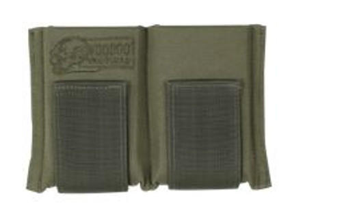 VOODOO TACTICAL OPEN TOPPED Double M16 30 Round Mag Belt Pouch