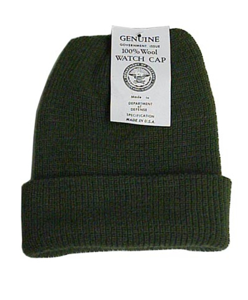 c5a45102182 Govt. Issue Wool Watch Cap