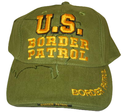 Border Patrol Cap with USA silhouette
