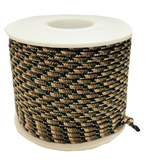 "Atwood Rope 1/16"" x 100 ft Woodland Camo Rope"
