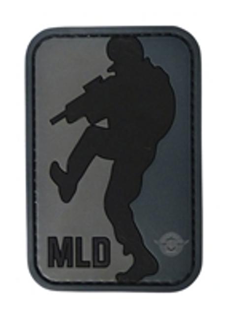 Morale Patch Major League Door-Kicker Black