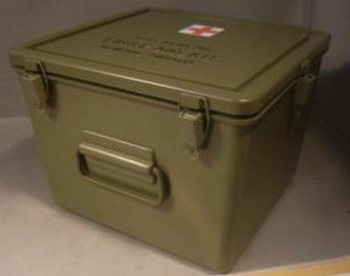 General Purpose Empty Military Issue Medical Cases Plastic 1e320838490