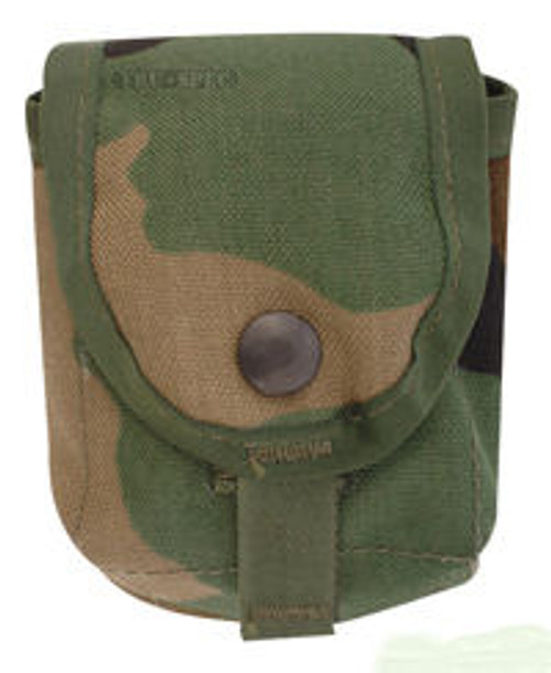 GI Issue MOLLE II WOODLAND CAMO GRENADE POUCH