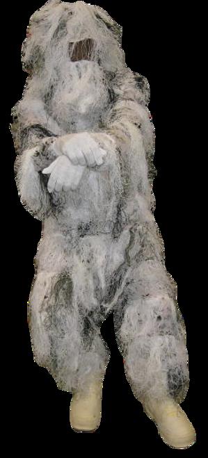 Snow Camo Ghillie Suit
