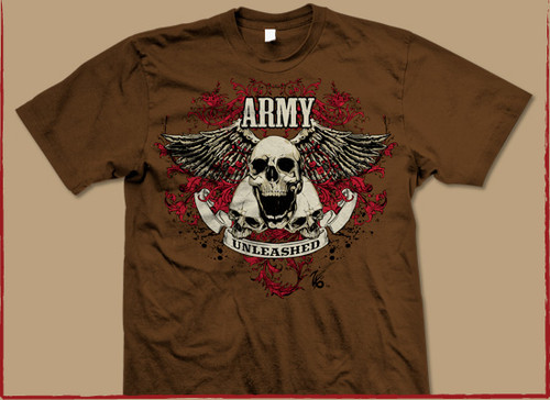 Zero Six Army Unleashed T-Shirt