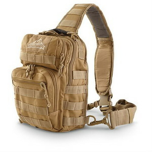 Red Rock Outdoor Gear Rover Sling Backpack Coyote Brown