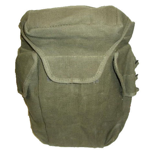French Army Gas Mask Bag