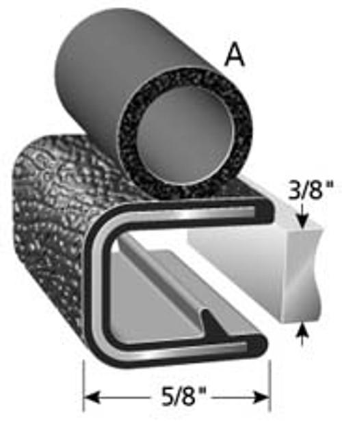 Trim Lock Weather Strip GI Issue Roll
