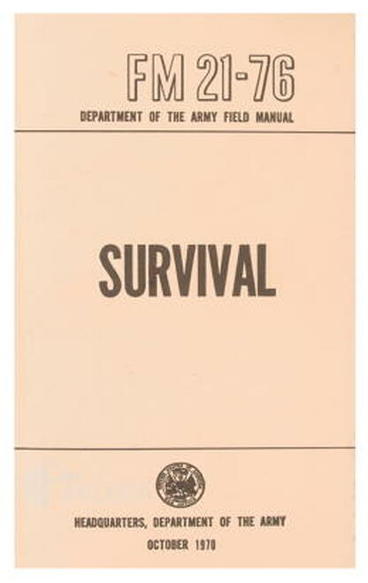Survival Manual /BK093