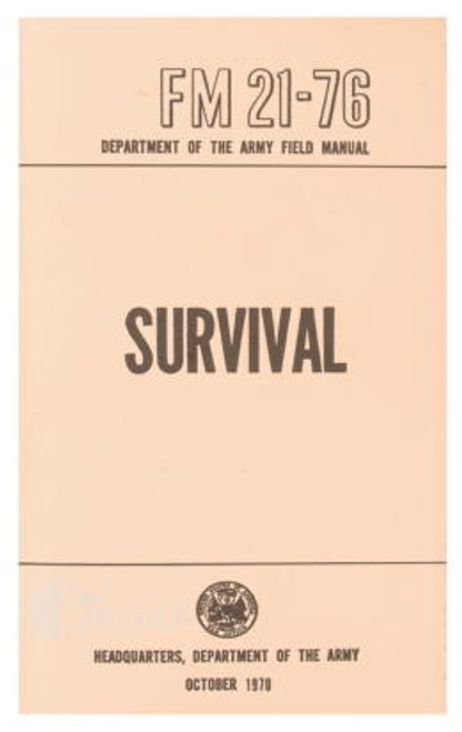 Survival Manual /BK093