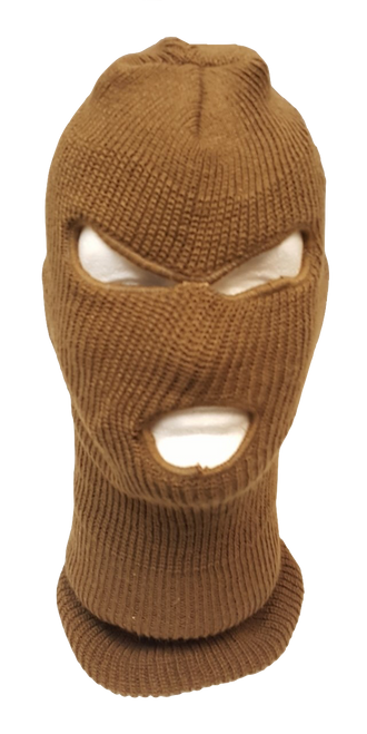 Acrylic Ski Mask Coyote Tan