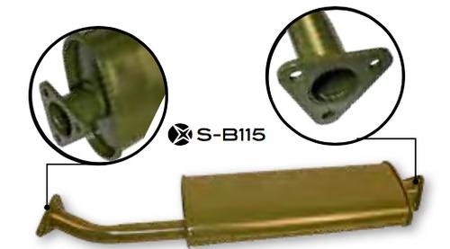M38/M38A1 Muffler SB115/649865