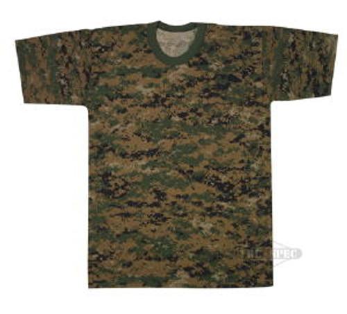 Kids Woodland Digital T-Shirt